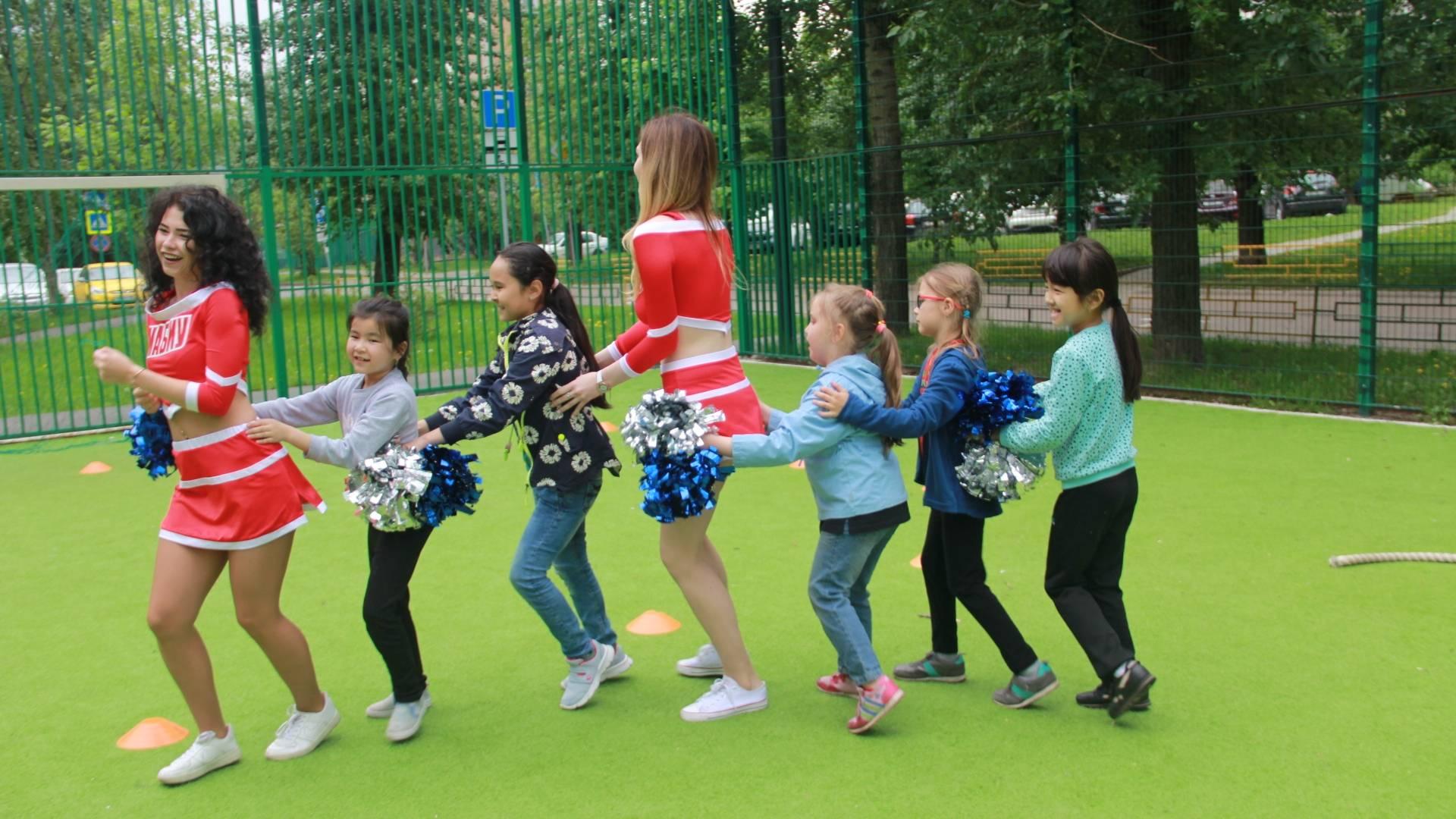 Молодежная палата района «Марьина роща» и ГБУ «Шире круг» провели мероприятие  «Здоровый ребенок – здоровая страна».